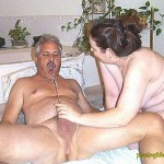 BBW couple pissing