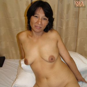 Mature Asian Granny