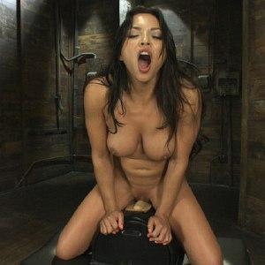 Adrianna Luna toying