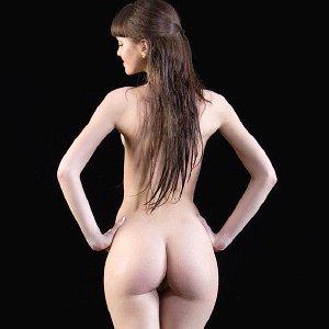 Exclusive brunette