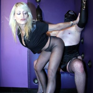 Domme in Pantyhose