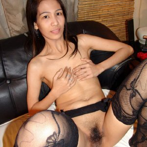 Skinny Asian Mature