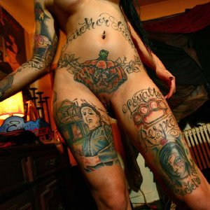 Nude Tattoo Girls