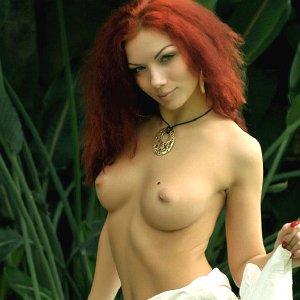 Wild redhead beauty