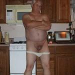 Daddy in jockstrap