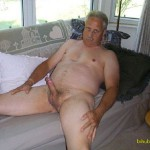 Daddy showing cock