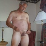 Daddy naked for boy