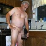 Old man pissing fun