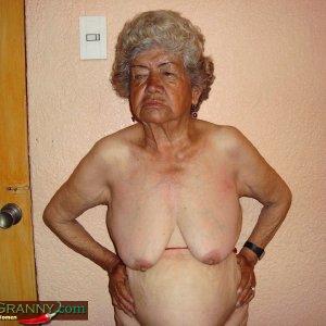Old hot latin granny