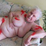 Older granny matures