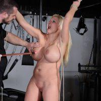 Slave Melanie Moon Bondage