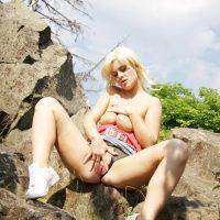 Blondes Public Nudity