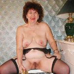 Homemade mature lady