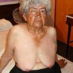 Latina granny nudist