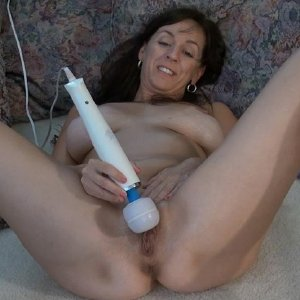 Horny matures toying