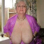Massive tits granny