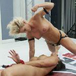 Penny Barber wrestle