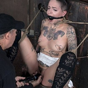 Leigh Raven is bound