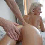 Gets a full massage