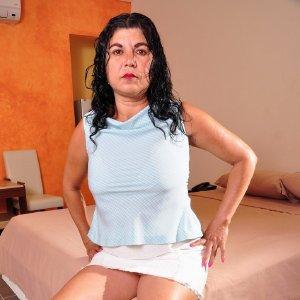 Hot busty latin lady