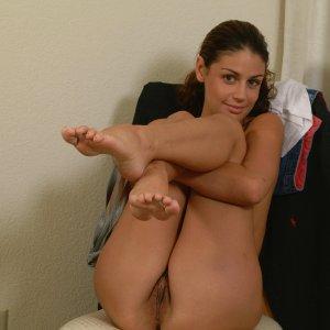 Striptease shoot
