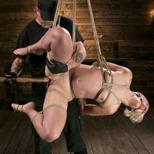 Dylan Ryan rope tied