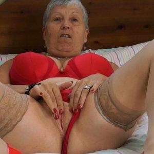 European mature lady