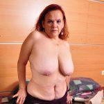 Busty latina grandma