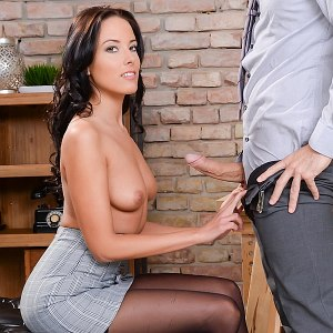 Lexi Layo office sex
