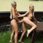 Blonde Lesbian Sex