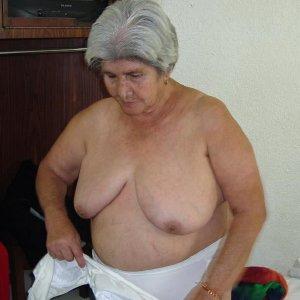 Wrinkly Latin Granny