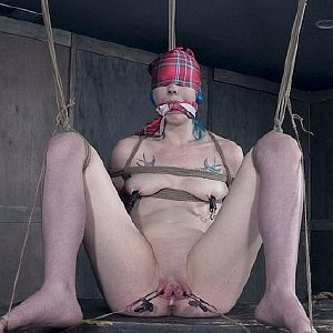 Lux Lives rope bound