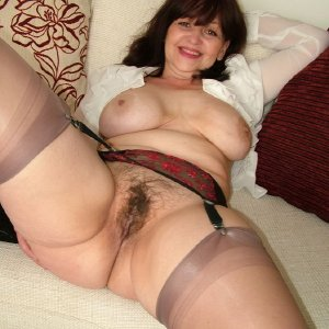Busty hairy mature