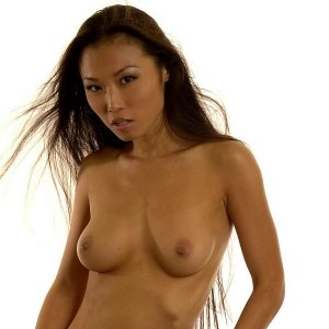 asian babe shows all