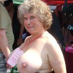 Mature nipples photo