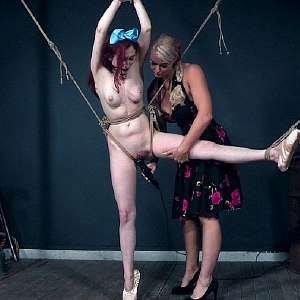 Penny Lay rope bound