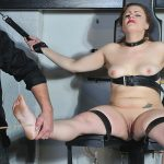 Caned Feet Of Isabel