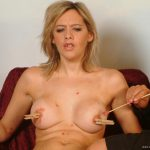Submissive Emma Louise in stockings