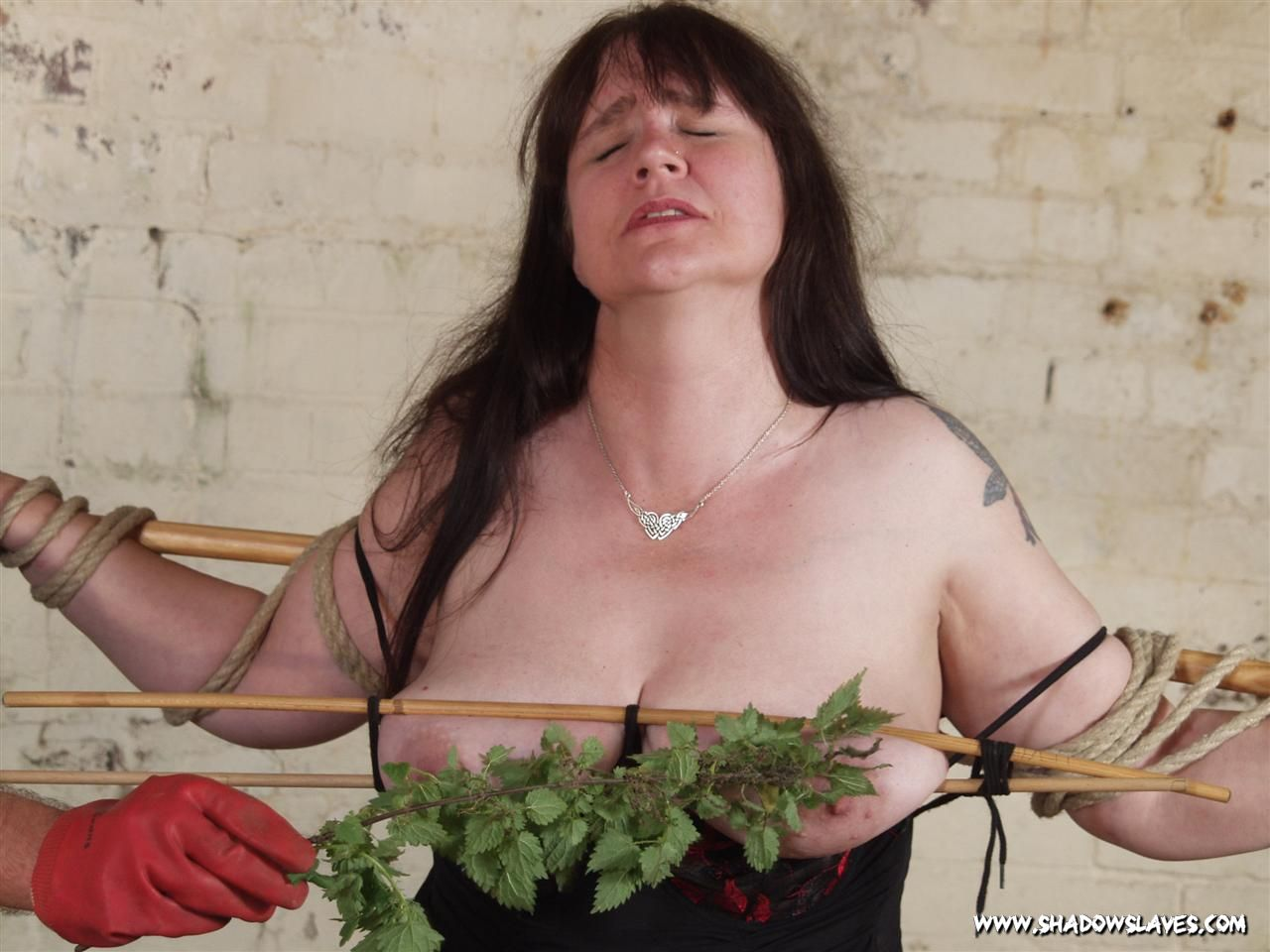 Mature Painslut Jays Stinging Nettle BDSM