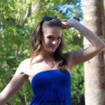 Long legged upskirts flasher Tori Black