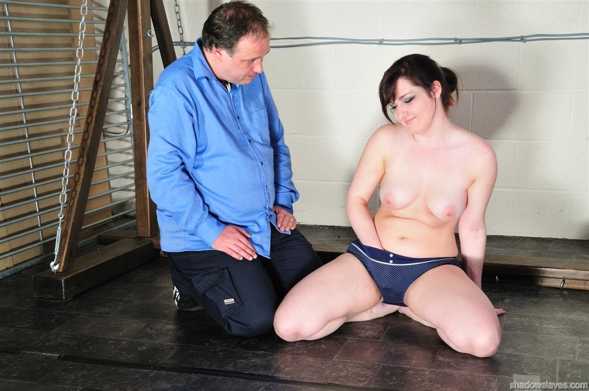 Tied submissive Dollys bondage