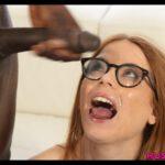 Pepper Hart in interracial cumshot action